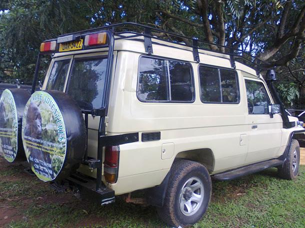 Uganda Rwanda Safari Vehicle for Hire, Rent 4x4 Toyota ...