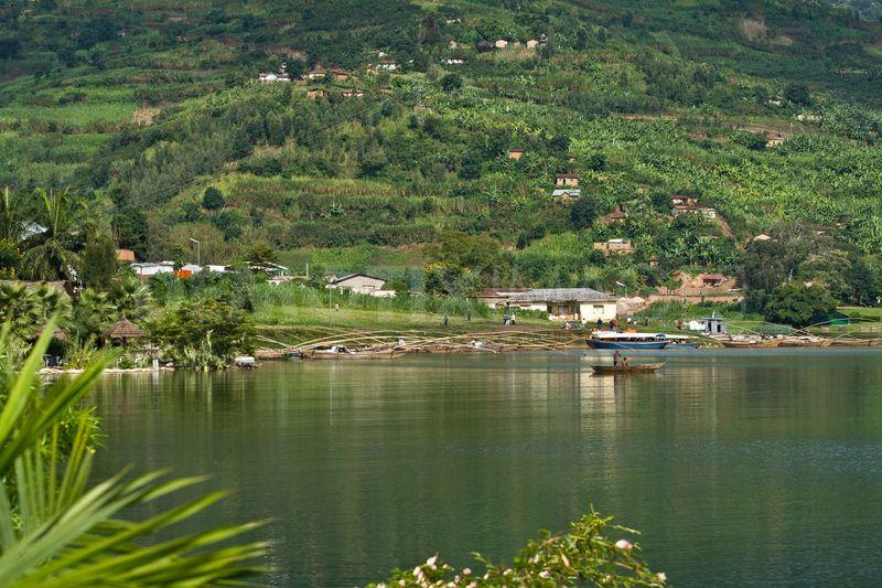 Beautiful Lake Kivu - Rwanda