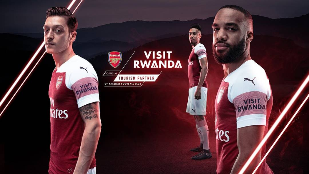 Club Arsenal partner with 'Visit Rwanda' – 3 Year Deal