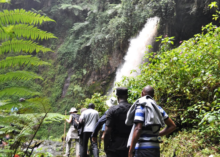 The Spectacular Kamiranzovu Waterfalls In Rwanda
