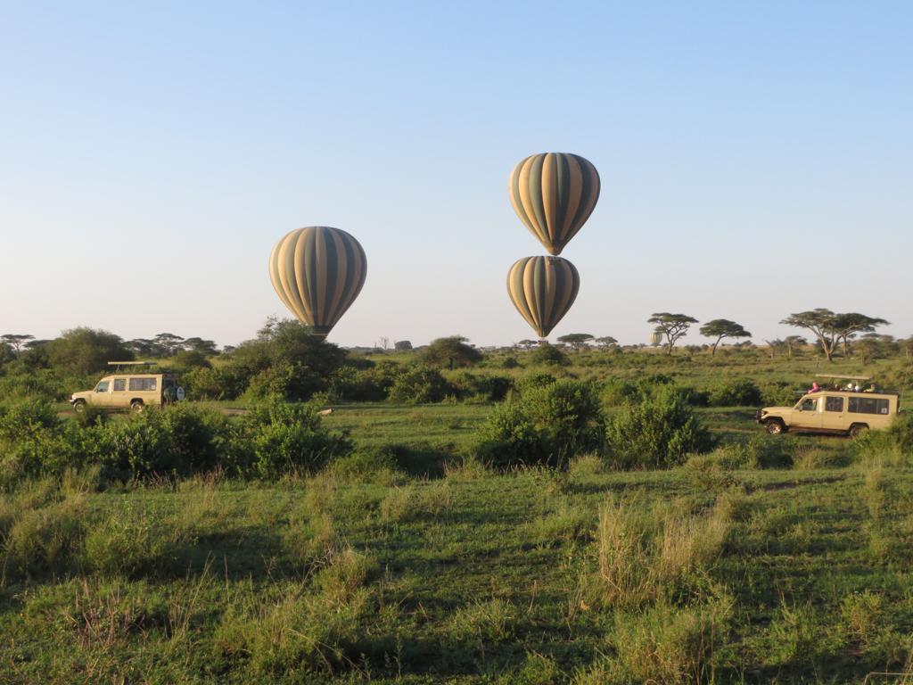 Hot Air Balloon Safari in Tanzania